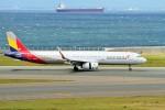 raiden0822さんが、中部国際空港で撮影したアシアナ航空 A321-231の航空フォト(写真)