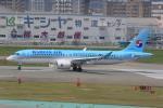みるぽんたさんが、福岡空港で撮影した大韓航空 A220-300 (BD-500-1A11)の航空フォト(写真)