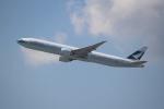OMAさんが、香港国際空港で撮影したキャセイパシフィック航空 777-367/ERの航空フォト(写真)