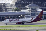 planetさんが、スワンナプーム国際空港で撮影したスパイスジェット 737-86Nの航空フォト(写真)