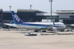 ゆう改めてさんが、成田国際空港で撮影した全日空 767-381/ERの航空フォト(写真)