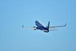 おかめさんが、羽田空港で撮影した全日空 737-881の航空フォト(写真)