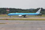 wunalaさんが、成田国際空港で撮影したKLMオランダ航空 777-306/ERの航空フォト(写真)