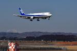 anyoziさんが、仙台空港で撮影した全日空 767-381/ERの航空フォト(写真)