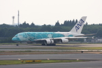 wunalaさんが、成田国際空港で撮影した全日空 A380-841の航空フォト(写真)