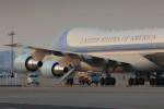 メンチカツさんが、羽田空港で撮影したアメリカ空軍 VC-25A (747-2G4B)の航空フォト(写真)