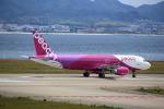 T.Sazenさんが、関西国際空港で撮影したピーチ A320-214の航空フォト(写真)