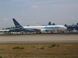 furaibo123さんが、シアトル タコマ国際空港で撮影したアマゾン・エア 767-338/ER(BDSF)の航空フォト(飛行機 写真・画像)