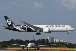 tassさんが、成田国際空港で撮影したニュージーランド航空 787-9の航空フォト(写真)
