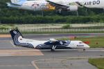 パンダさんが、新千歳空港で撮影したオーロラ DHC-8-315Q Dash 8の航空フォト(写真)