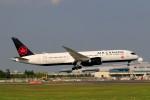 ☆ライダーさんが、成田国際空港で撮影したエア・カナダ 787-9の航空フォト(写真)