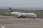 RAOUさんが、中部国際空港で撮影したキャセイパシフィック航空 A350-1041の航空フォト(写真)