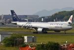 あしゅーさんが、福岡空港で撮影した大韓航空 A330-223の航空フォト(飛行機 写真・画像)