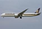 あしゅーさんが、福岡空港で撮影したシンガポール航空 787-10の航空フォト(写真)