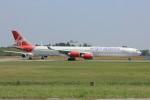メンチカツさんが、成田国際空港で撮影したヴァージン・アトランティック航空 A340-642の航空フォト(写真)