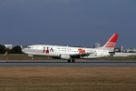 Gambardierさんが、伊丹空港で撮影した日本トランスオーシャン航空 737-4Q3の航空フォト(写真)
