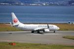 T.Sazenさんが、関西国際空港で撮影した日本トランスオーシャン航空 737-8Q3の航空フォト(飛行機 写真・画像)