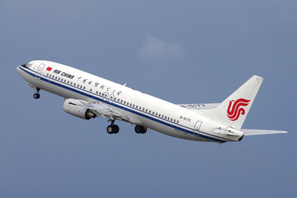 yabyanさんの中国国際航空 Boeing 737-800 (B-5173) 航空フォト