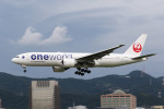 HLeeさんが、台北松山空港で撮影した日本航空 777-246/ERの航空フォト(写真)