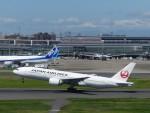 トタさんが、羽田空港で撮影した日本航空 777-246/ERの航空フォト(写真)