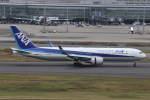 プルシアンブルーさんが、羽田空港で撮影した全日空 767-381/ERの航空フォト(写真)