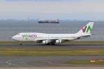 たまさんが、羽田空港で撮影したワモス・エア 747-4H6の航空フォト(飛行機 写真・画像)