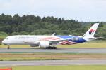 cassiopeiaさんが、成田国際空港で撮影したマレーシア航空 A350-941XWBの航空フォト(写真)
