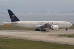 キイロイトリさんが、関西国際空港で撮影したサウディア 777-FFGの航空フォト(写真)