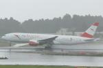 cassiopeiaさんが、成田国際空港で撮影したオーストリア航空 777-2B8/ERの航空フォト(写真)