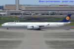 いおりさんが、羽田空港で撮影したルフトハンザドイツ航空 A340-642の航空フォト(写真)