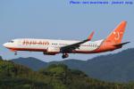 いおりさんが、福岡空港で撮影したチェジュ航空 737-83Nの航空フォト(写真)