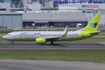 いおりさんが、福岡空港で撮影したジンエアー 737-8SHの航空フォト(写真)