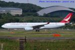 いおりさんが、福岡空港で撮影したキャセイドラゴン A330-343Xの航空フォト(写真)