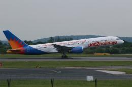 採れたてほしいもさんが、マンチェスター空港で撮影したジェット・ツー 757-236の航空フォト(飛行機 写真・画像)