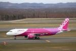 zero1さんが、新千歳空港で撮影したピーチ A320-214の航空フォト(写真)