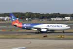 プルシアンブルーさんが、成田国際空港で撮影したエアカラン A330-202の航空フォト(写真)