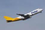 プルシアンブルーさんが、成田国際空港で撮影したポーラーエアカーゴ 747-45EF/SCDの航空フォト(写真)