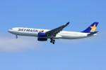 メンチカツさんが、羽田空港で撮影したスカイマーク A330-343Xの航空フォト(飛行機 写真・画像)