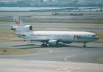 プルシアンブルーさんが、羽田空港で撮影した日本航空 DC-10-40Dの航空フォト(写真)