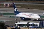 masa707さんが、ロサンゼルス国際空港で撮影したアエロメヒコ航空 737-852の航空フォト(写真)