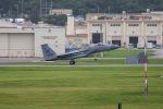 チャッピー・シミズさんが、嘉手納飛行場で撮影したアメリカ空軍 F-15C-30-MC Eagleの航空フォト(写真)
