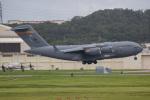 チャッピー・シミズさんが、嘉手納飛行場で撮影したアメリカ空軍 C-17A Globemaster IIIの航空フォト(写真)