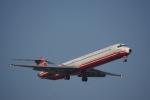 JA8037さんが、台湾桃園国際空港で撮影した遠東航空 MD-83 (DC-9-83)の航空フォト(写真)