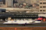 Hiro-hiroさんが、伊丹空港で撮影したアイベックスエアラインズ CL-600-2B19 Regional Jet CRJ-100LRの航空フォト(写真)