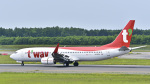 パンダさんが、新千歳空港で撮影したティーウェイ航空 737-8ASの航空フォト(写真)