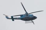 代打の切札さんが、伊丹空港で撮影した愛知県警察 412EPの航空フォト(写真)