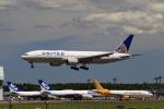 ☆ライダーさんが、成田国際空港で撮影したユナイテッド航空 777-222/ERの航空フォト(写真)