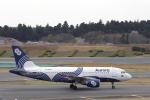 リンリンさんが、成田国際空港で撮影したオーロラ A319-111の航空フォト(写真)