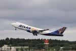 KAZFLYERさんが、成田国際空港で撮影したアトラス航空 747-47UF/SCDの航空フォト(飛行機 写真・画像)