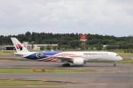KAZFLYERさんが、成田国際空港で撮影したマレーシア航空 A350-941XWBの航空フォト(写真)
